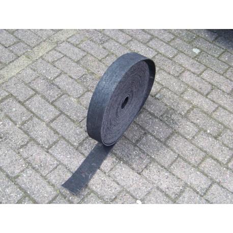 30 meter grijs oplegvilt 800 gram 50 mm breed