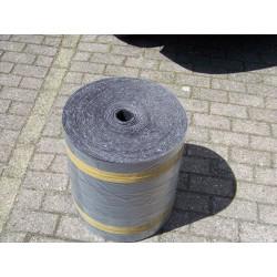 180 meter grijs oplegvilt 800 gram 60 mm breed