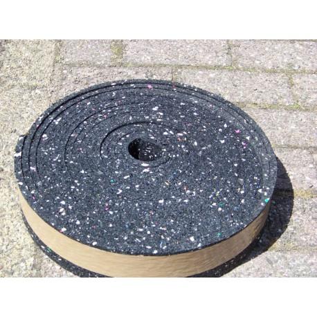 Granulaat oplegrubber 10 meter 80x10 mm